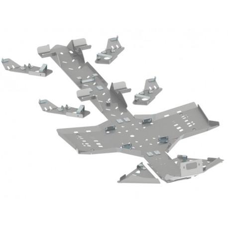 Skid Plate Full Kit Aluminium Alloy CanAm Outlander 1000 G2 6x6
