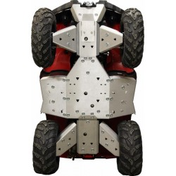 Skid Plate FULL KIT Aluminium Alloy Yamaha-450 Grizzly