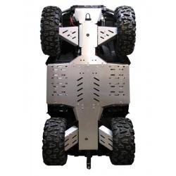 Skid Plate Full Kit Aluminium CF Moto CFORCE 800 LUX X8 LUX