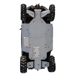 Skid Plate Full Kit Aluminium CF Moto ZFORCE 600 Z6