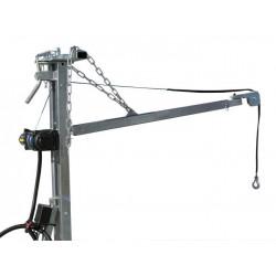 Crane for ATV SSV Timber Trailer