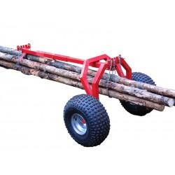 Rear support Log hauler