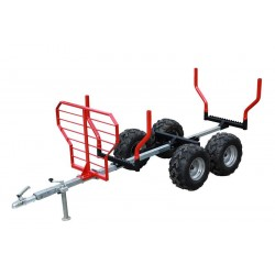 ATV SSV Timber Trailer Capacity 1000Kg