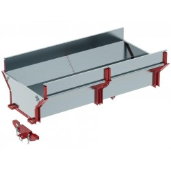 Cargo Box ATV SSV Timber Trailer Capacity 1000 Kg