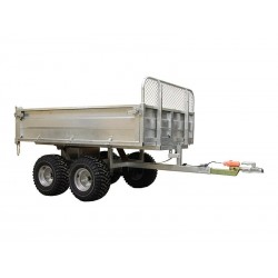 ATV Cargo Trailer Capacity 1500 kg - Electro Hydraulic Lifting
