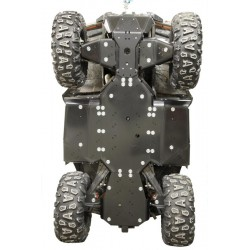 Skid Plate Full Kit Plastic Alu CF Moto CFORCE 850 CFORCE 800 XC CFORCE 1000