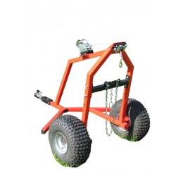 ATV Log Hauler - Manual Winch