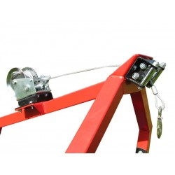 Manual winch For Log Hauler