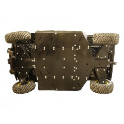 Skid Plate Full Kit HDPE Plastic John Deere Gator XUV 865
