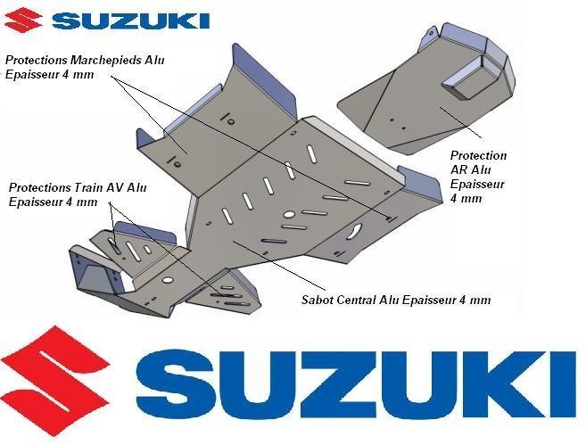 SKID PLATES SUZUKI