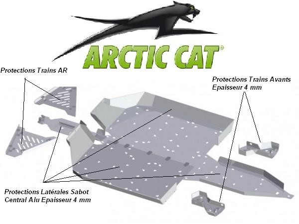 Protection Quad SSV Arctic Cat