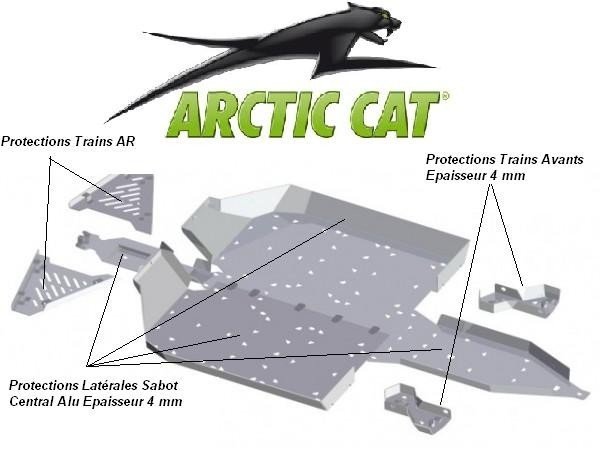 SKID PLATES ARCTIC CAT