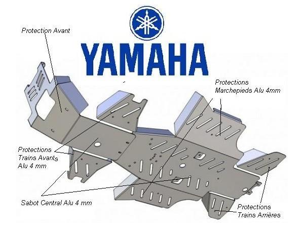 SKID PLATES YAMAHA