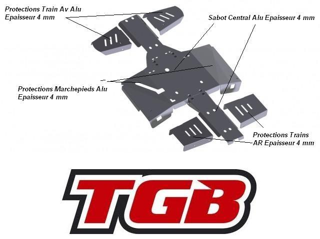 SKID PLATES TGB